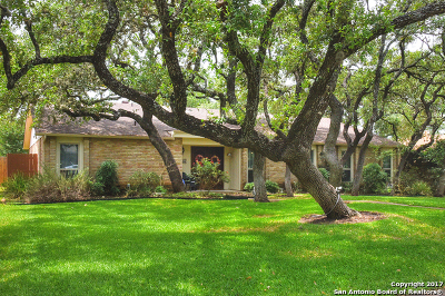 Bexar County Single Family Home Back on Market: 13611 Forest Walk