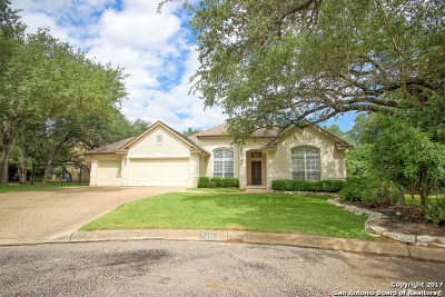 Fair Oaks Ranch Single Family Home Active RFR: 7415 Mellow Rdg