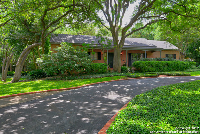 Alamo Heights Single Family Home For Sale: 510 Tuxedo Ave