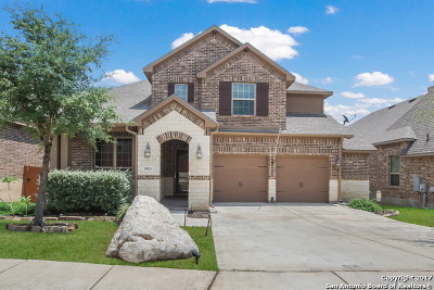 San Antonio Single Family Home Price Change: 18426 Gran Mesa