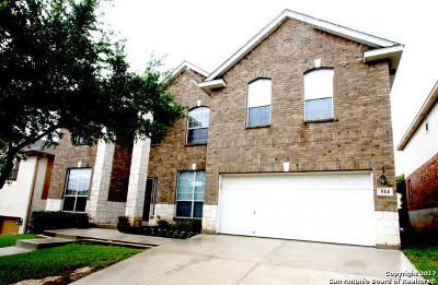 San Antonio Single Family Home Back on Market: 514 Hillside Ct