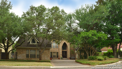 Stone Oak Single Family Home Back on Market: 1110 Harvest Wood