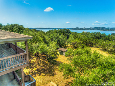 Canyon Lake Single Family Home Price Change: 636 Mt Lookout Dr
