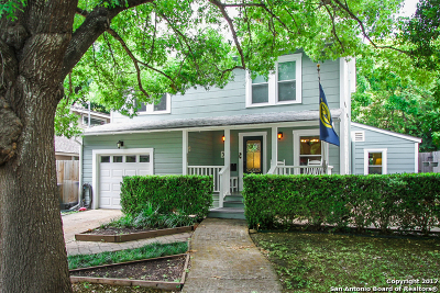 Alamo Heights Single Family Home For Sale: 311 Ogden Ln