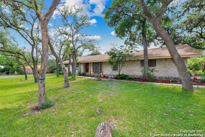 Helotes Single Family Home For Sale: 10538 Rocking M Trl