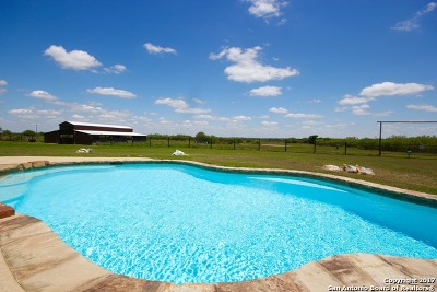 Floresville TX Farm & Ranch For Sale: $415,000