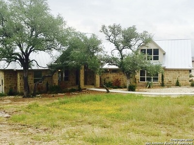 New Braunfels Single Family Home Price Change: 522 Cantera Rdg