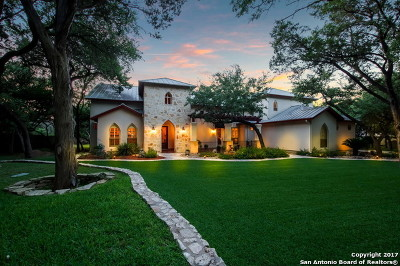 New Braunfels Single Family Home For Sale: 16 Horseshoe Trl