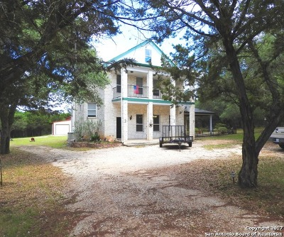 Bandera County Single Family Home For Sale: 145 Forest Ridge Drive