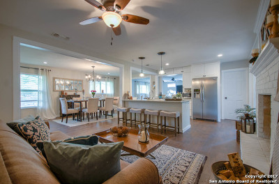 Bexar County Single Family Home For Sale: 16903 Happy Hollow Dr