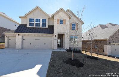 Alamo Ranch Single Family Home For Sale: 12830 Sabinal River