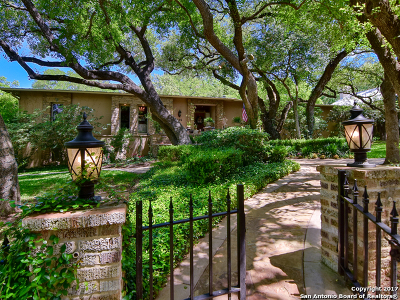 Alamo Heights Single Family Home For Sale: 525 Evans Ave