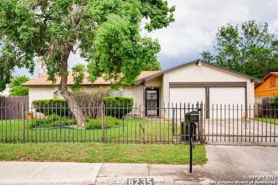 Single Family Home For Sale: 8235 Meadow Fire St