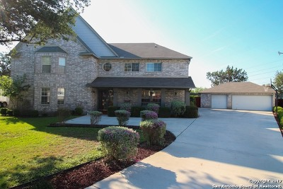 San Antonio Single Family Home For Sale: 18602 Redrock Woods