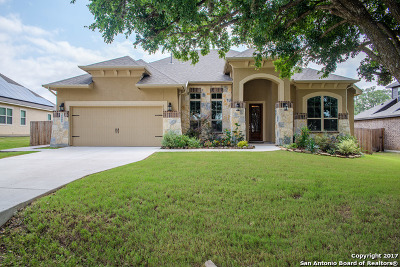 Bulverde Single Family Home Price Change: 30888 Schlather Ln