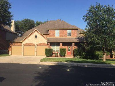 San Antonio Single Family Home For Sale: 21822 Barton Woods