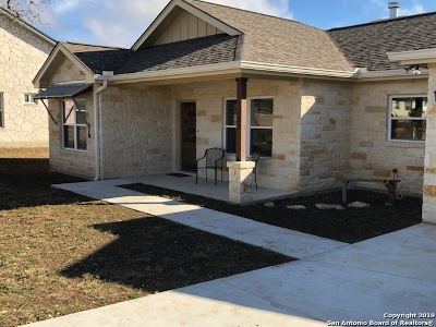 Bandera County Single Family Home Back on Market: 227 Edgewood Dr
