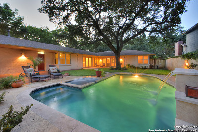Alamo Heights Single Family Home For Sale: 170 Claywell Dr