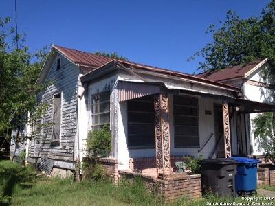 Single Family Home For Sale: 1511 S Presa St