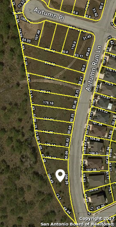 Converse Residential Lots & Land Back on Market: Tbd Autumn Run Ln