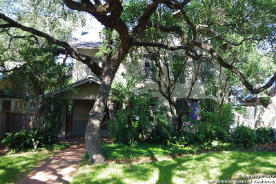 Alamo Heights Single Family Home For Sale: 313 Encino Ave