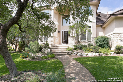 San Antonio Single Family Home Price Change: 24633 Bogey Rdg