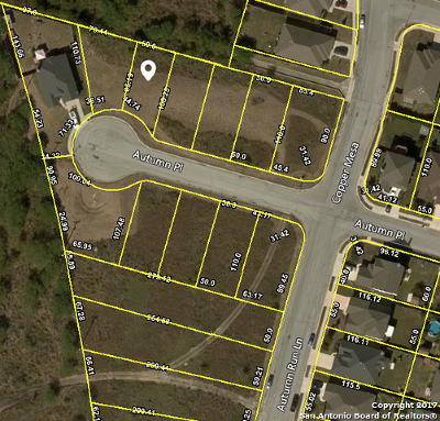 Converse Residential Lots & Land For Sale: Tbd Autumn Pl