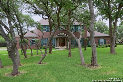 San Antonio Single Family Home For Sale: 27510 Timberline Dr