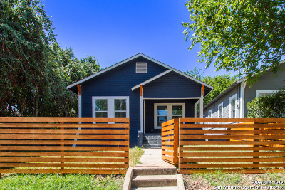 San Antonio Single Family Home Price Change: 107 Nelson Ave