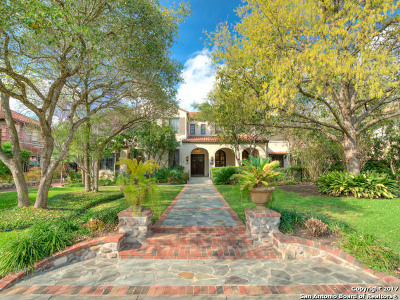 San Antonio Single Family Home Back on Market: 141 E Gramercy Pl