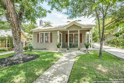 Alamo Heights Single Family Home For Sale: 125 Normandy Ave