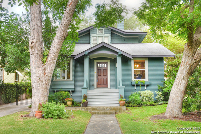 Alamo Heights Single Family Home For Sale: 226 Harrison Ave