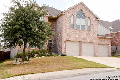 Bexar County Single Family Home Back on Market: 3647 Valencia Peak
