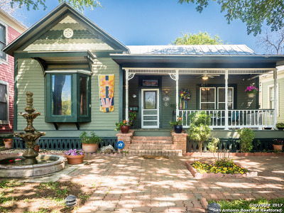 San Antonio Single Family Home Price Change: 144 Crofton Ave