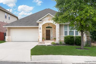 San Antonio Single Family Home Price Change: 2410 Cortona Mist