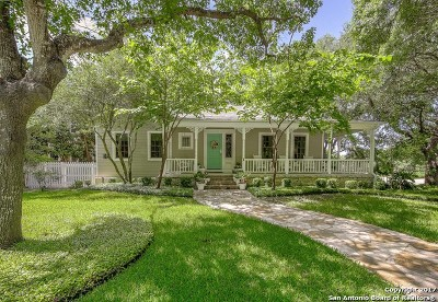 Alamo Heights Single Family Home For Sale: 232 College Blvd