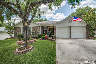 Schertz Single Family Home For Sale: 3717 Scenic Dr