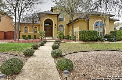Helotes Single Family Home For Sale: 135 Candelaria