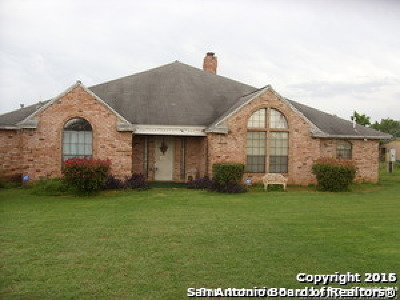 Adkins TX Single Family Home For Sale: $300,000