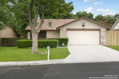 San Antonio Single Family Home Price Change: 16515 Hunting Glen St