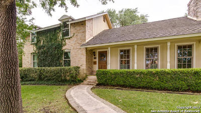 Terrell Hills Single Family Home For Sale: 312 Elizabeth Rd