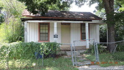 San Antonio Single Family Home For Sale: 132 Camargo St