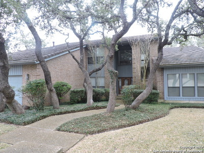 Elm Creek Single Family Home For Sale: 3502 Elm Knoll St