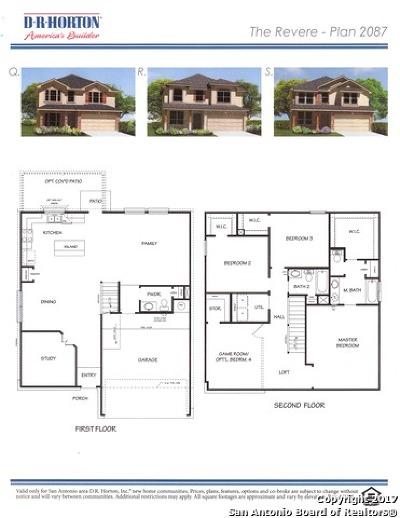 San Antonio Single Family Home For Sale: 22434 Akin Nook