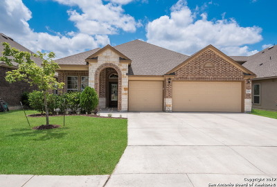 Helotes Single Family Home Back on Market: 10518 Cima Vista