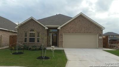 San Antonio Single Family Home Price Change: 12134 Fort Leaton