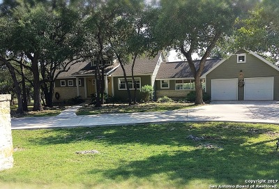 Spring Branch Single Family Home Price Change: 831 Cypress Pass Rd