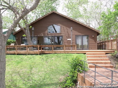 McQueeney Single Family Home For Sale: 573 Ski Lodge Rd