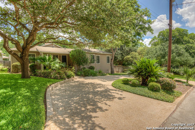 Alamo Heights Single Family Home For Sale: 111 Redwood St