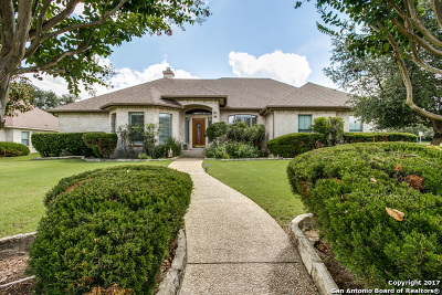 Boerne Single Family Home For Sale: 30202 Fairway Ash